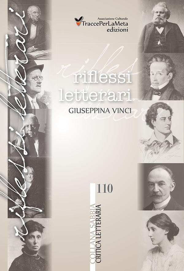 """Giuseppina Vinci torna con un saggio letterario: """"Riflessi letterari"""""""