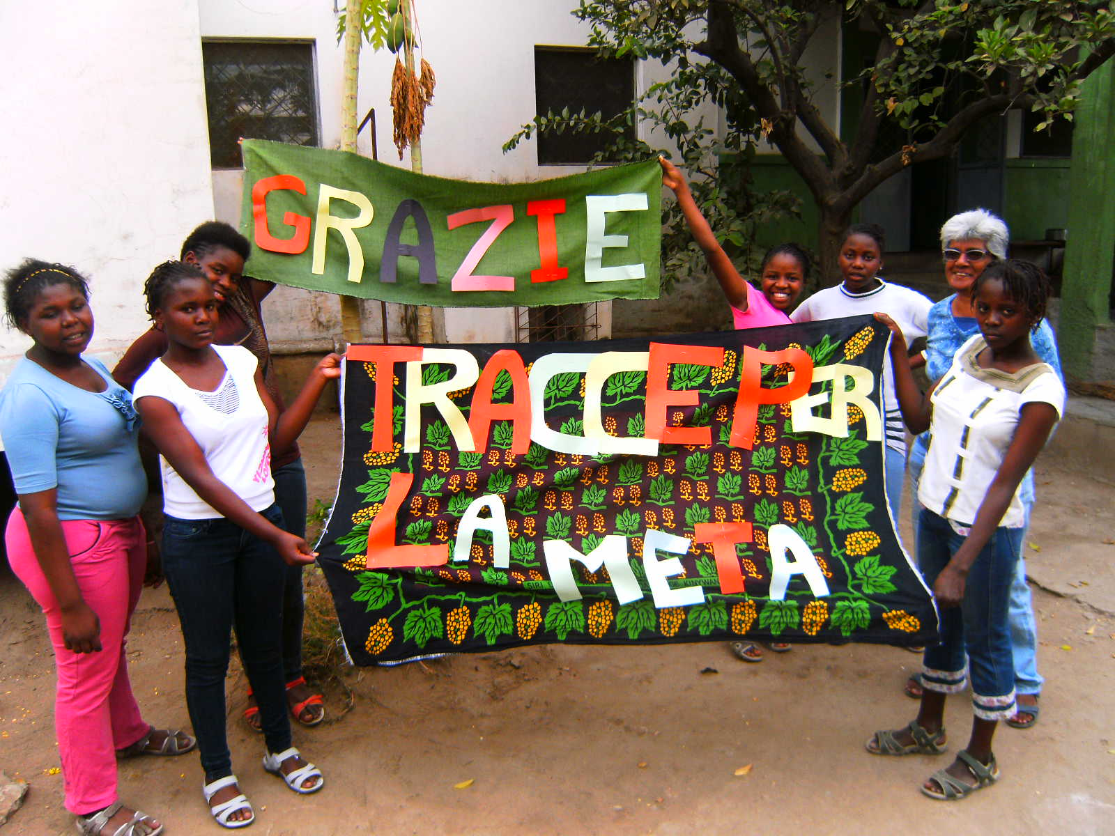 TraccePerLaMeta for Macibombo Onlus