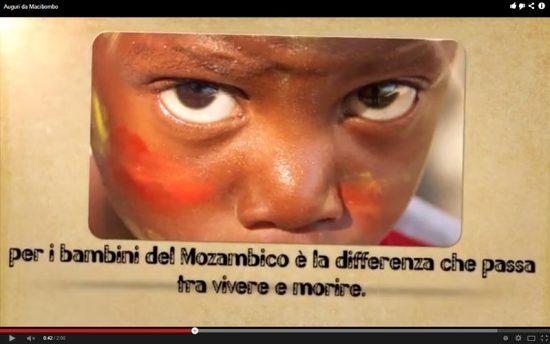 Natale 2013 – Gli auguri di Macibombo Onlus – Biglietto Multimediale