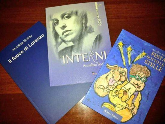 13.2.2014 – EdicoLAB – Presentazione libri: Il fuoco di Lorenzo, Interni, Festa sotto le Stelle di Annalisa Soddu