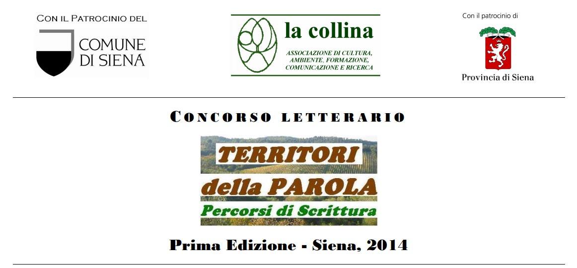 """Scadenza 31.4.2014 – Prima edizione del Concorso letterario """"Territori della Parola. Percorsi di Scrittura"""""""
