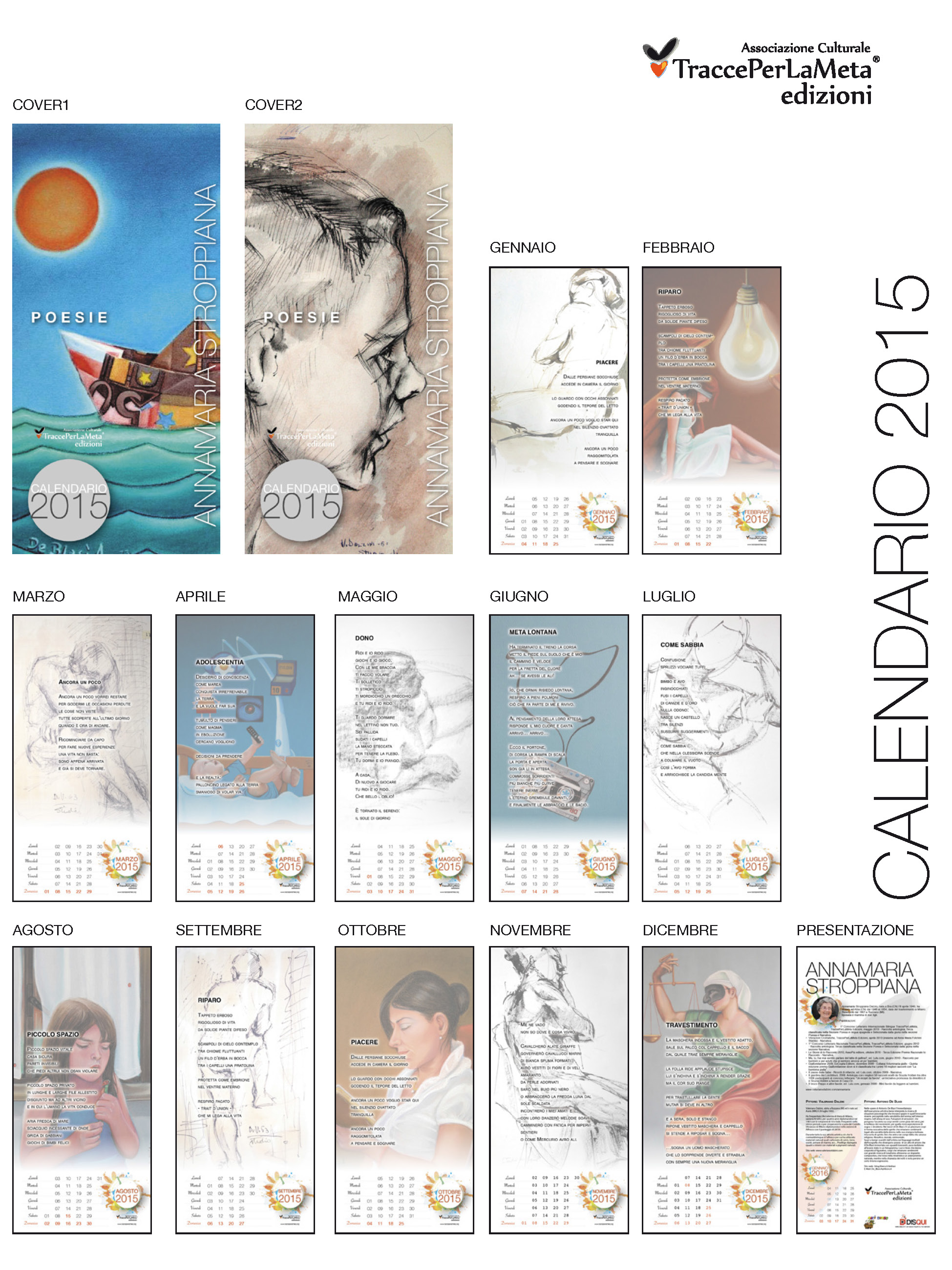 Calendari Poetici d'Autore TPLM 2015