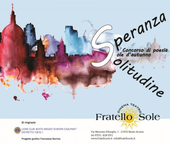 Scadenza 31.5.2015 – Sole d'autunno – Concorso di poesia XIII edizione 2014-2015