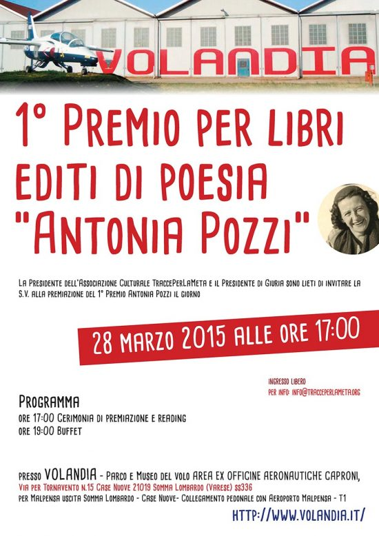 """28 marzo 2015 – Premiazione 1° Premio per Libri editi di Poesia """"Antonia Pozzi"""""""