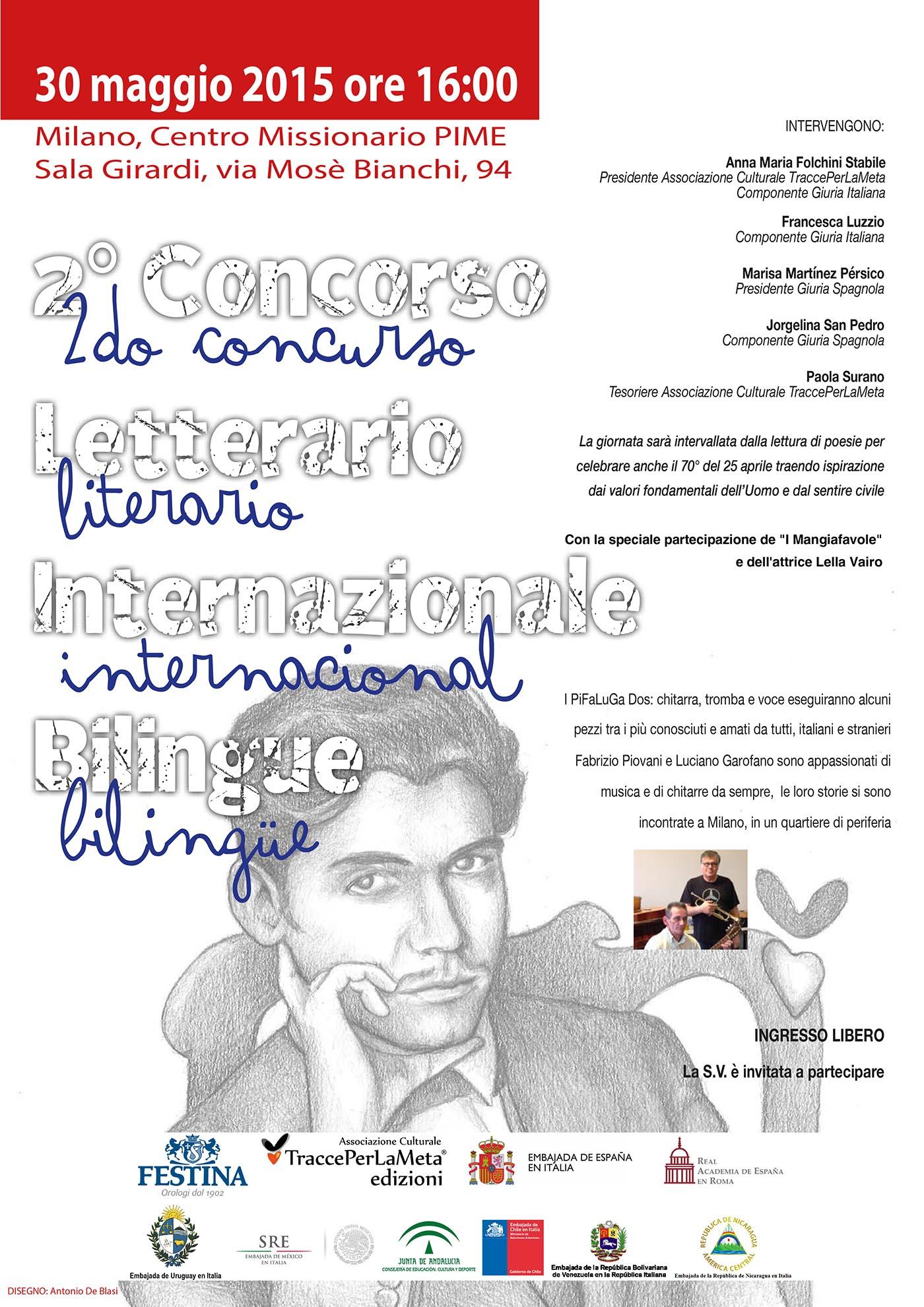 Premiazione 2° Concorso Letterario Internazionale Bilingue 2014