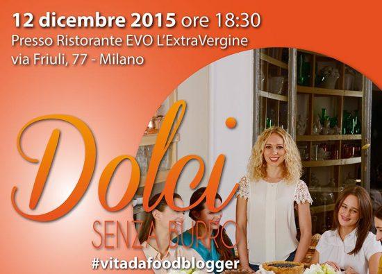 """12.12.2015 – """"Dolci Senza Burro"""" presentazione del nuovo libro di Federica Constantini"""