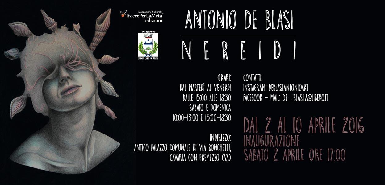 2-10 aprile 2016 – Antonio De Blasi – Nereidi – Mostra di pittura