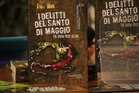 """6.12.2016 – """"I delitti del Santo di Maggio"""" presentazione del giallo di Enzo Meli"""