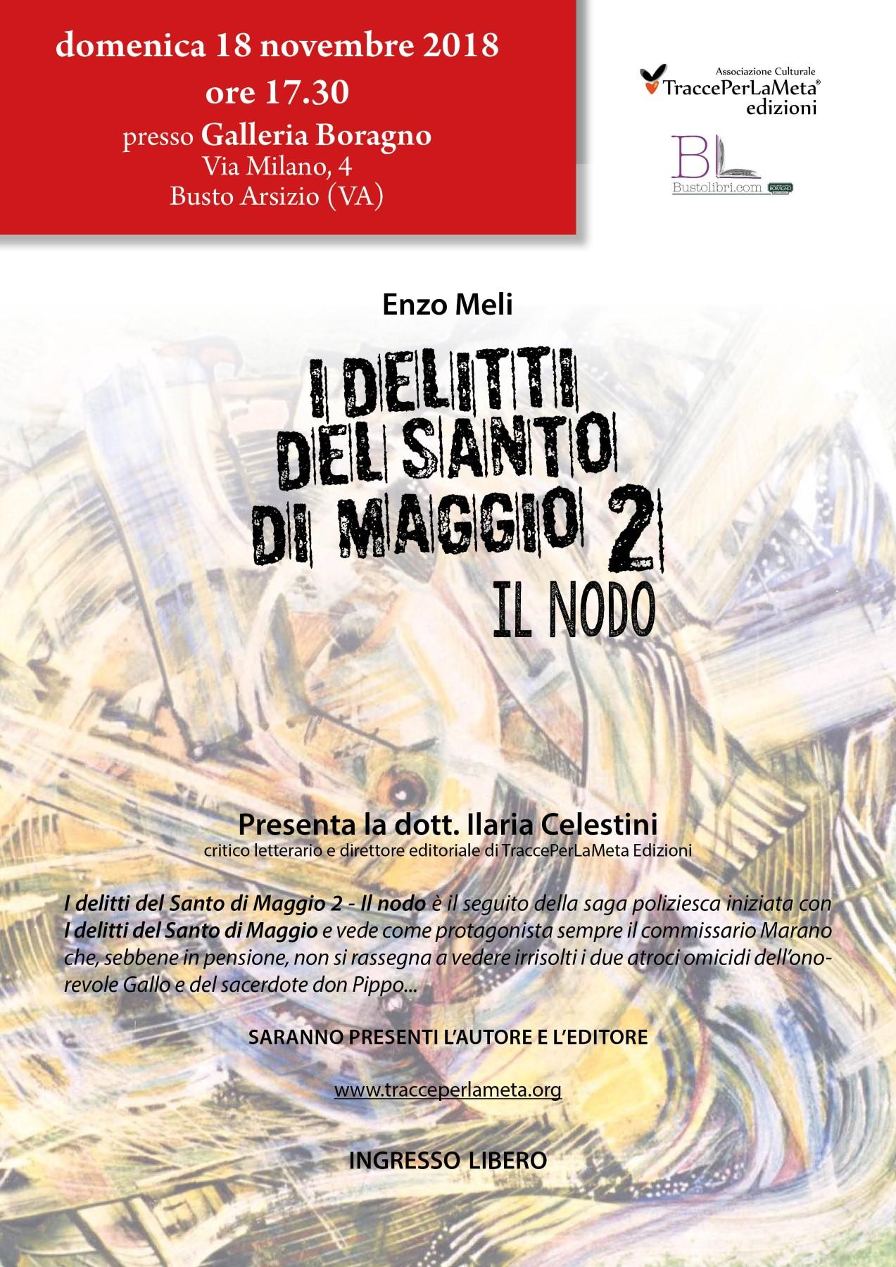 Tracce di Cultura – l'Inform@zione OnLine – Enzo Meli: scrivere libri come sceneggiature