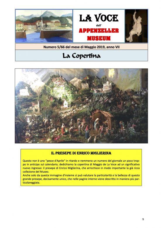 Maggio 2019, n.5, La Voce dell'Appenzeller Museum