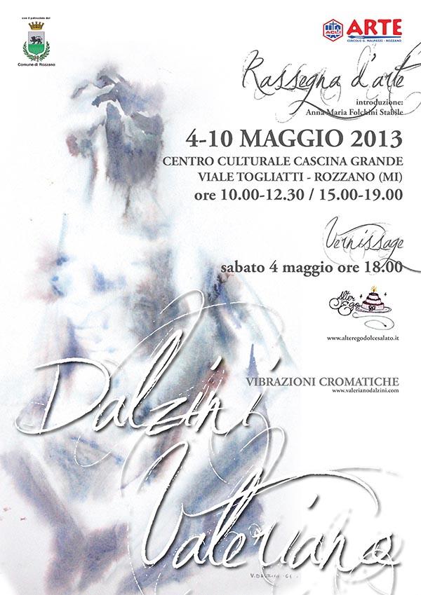 """Rassegna d'Arte e Presentazione libro: Valeriano Dalzini """"Vibrazioni Cromatiche"""""""