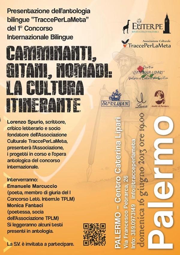 Presentazione dell'antologia del 1° Concorso Internazionale Bilingue TraccePerLaMeta