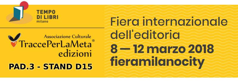 TraccePerLaMeta Edizioni a Tempo di Libri di Milano 2018