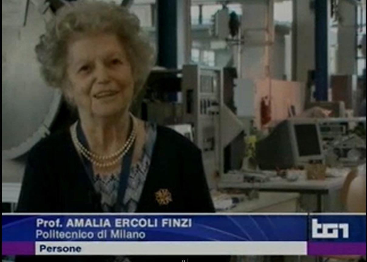 Tg1 Persone 16.11.2013 La Signora delle Comete – Amalia Ercoli Finzi