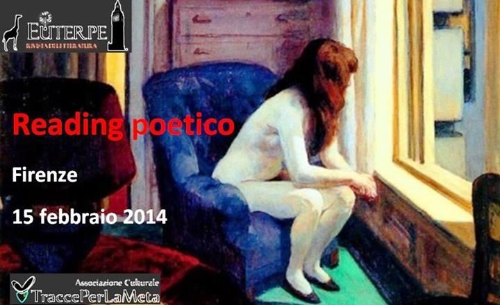 "Scadenza 10.1.2014 – Reading poetico ""Disagio psichico e sociale"""