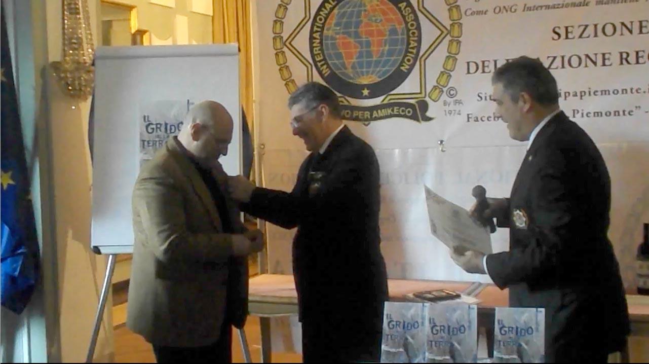 """15.12.2013 International Police Association Presidenza Nazionale – """"Il Grido della Terra"""" di Fabio Clerici"""