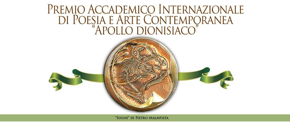 """Scadenza 10.8.2014 – I Edizione Premio Accademico Internazionale di Poesia e Arte Contemporanea """"Apollo dionisiaco"""""""