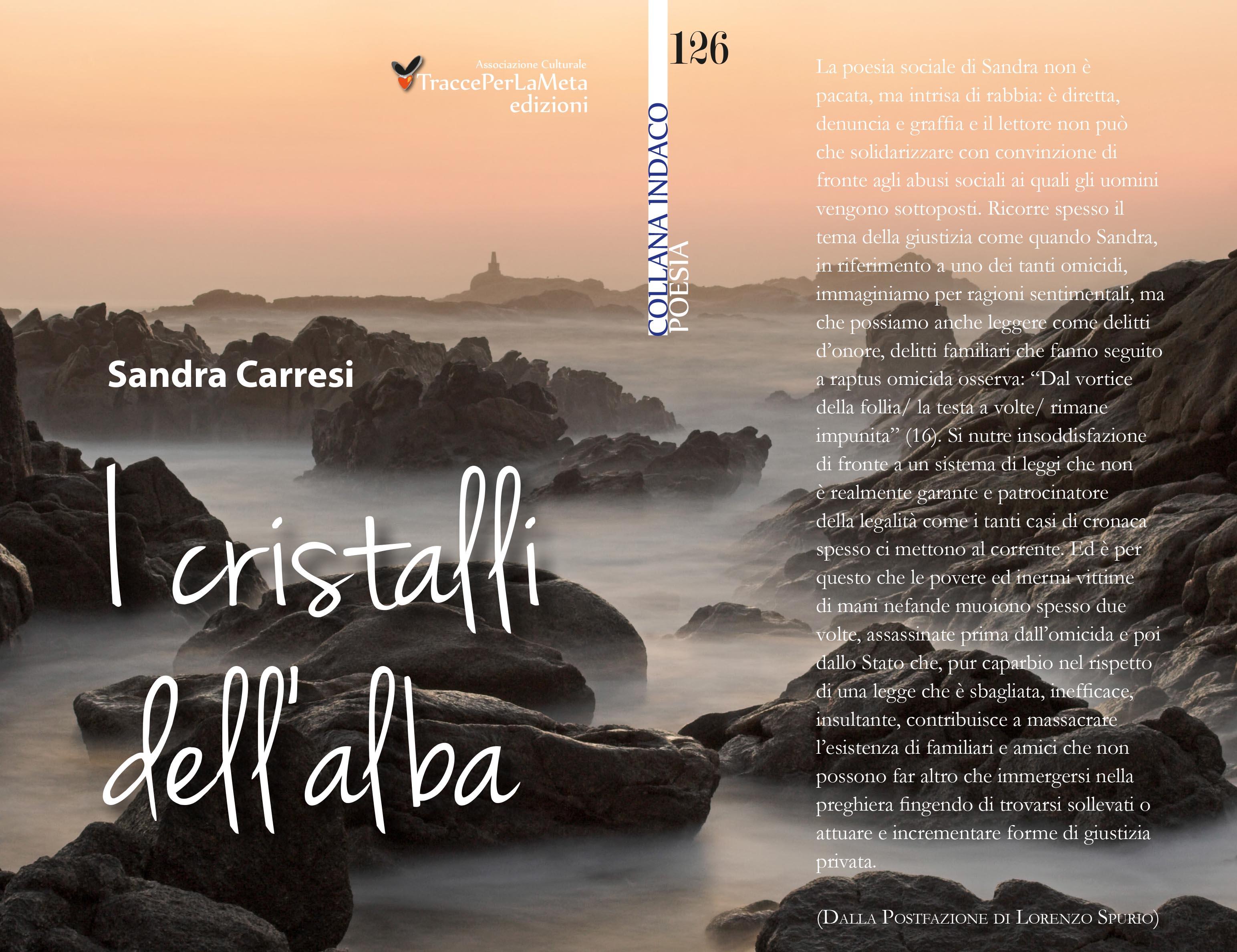 I cristalli dell'alba di Sandra Carresi – Recensione di Anna Scarpetta