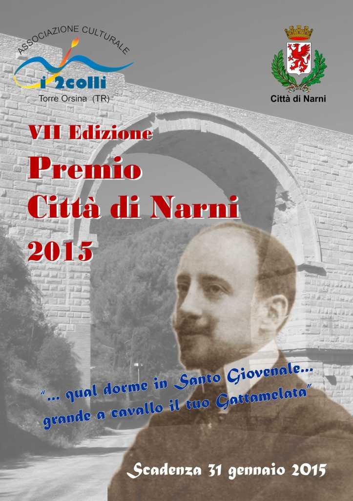 """Scadenza 31.1.2015 – 7° Edizione del Concorso di Poesia Nazionale """"Premio Città di Narni 2015"""""""