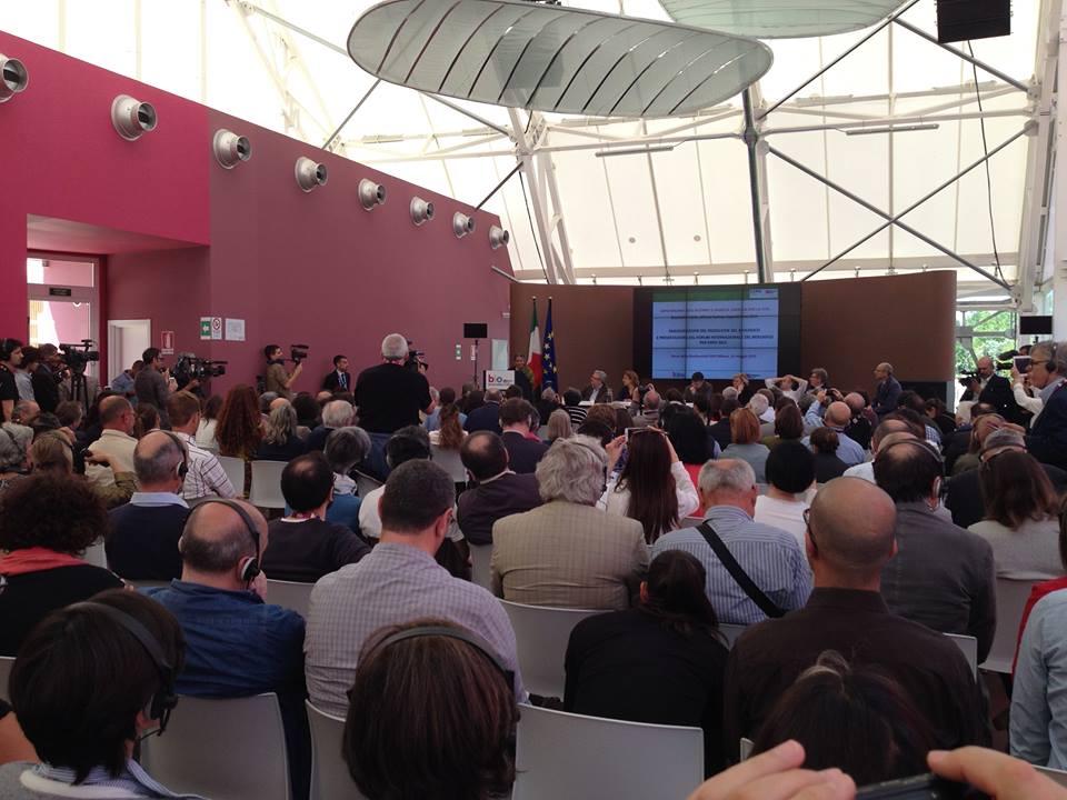 16.5 – EXPO Milano 2015 – TPLM all'Inaugurazione Padiglione Biodiversità con Vandana Shiva