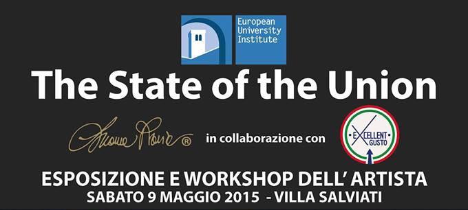9.5.2015 – The State of the Union – Esposizione e Workshop dell'artista Luana Raia