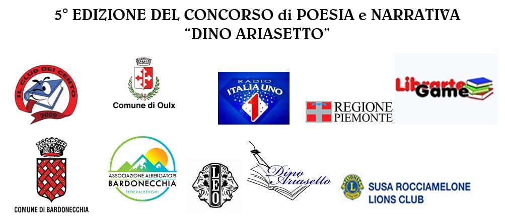 """Scadenza 15.4.2016 – Concorso di poesia e narrativa """"Dino Ariasetto"""" 5 edizione"""