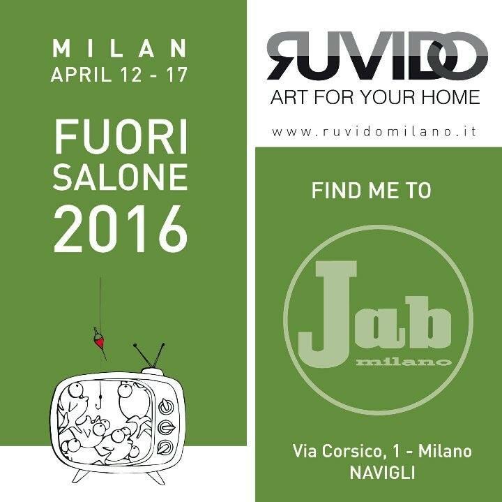Milan, April 12-17, Fuori Salone 2016 – Ruvido, Art for your home