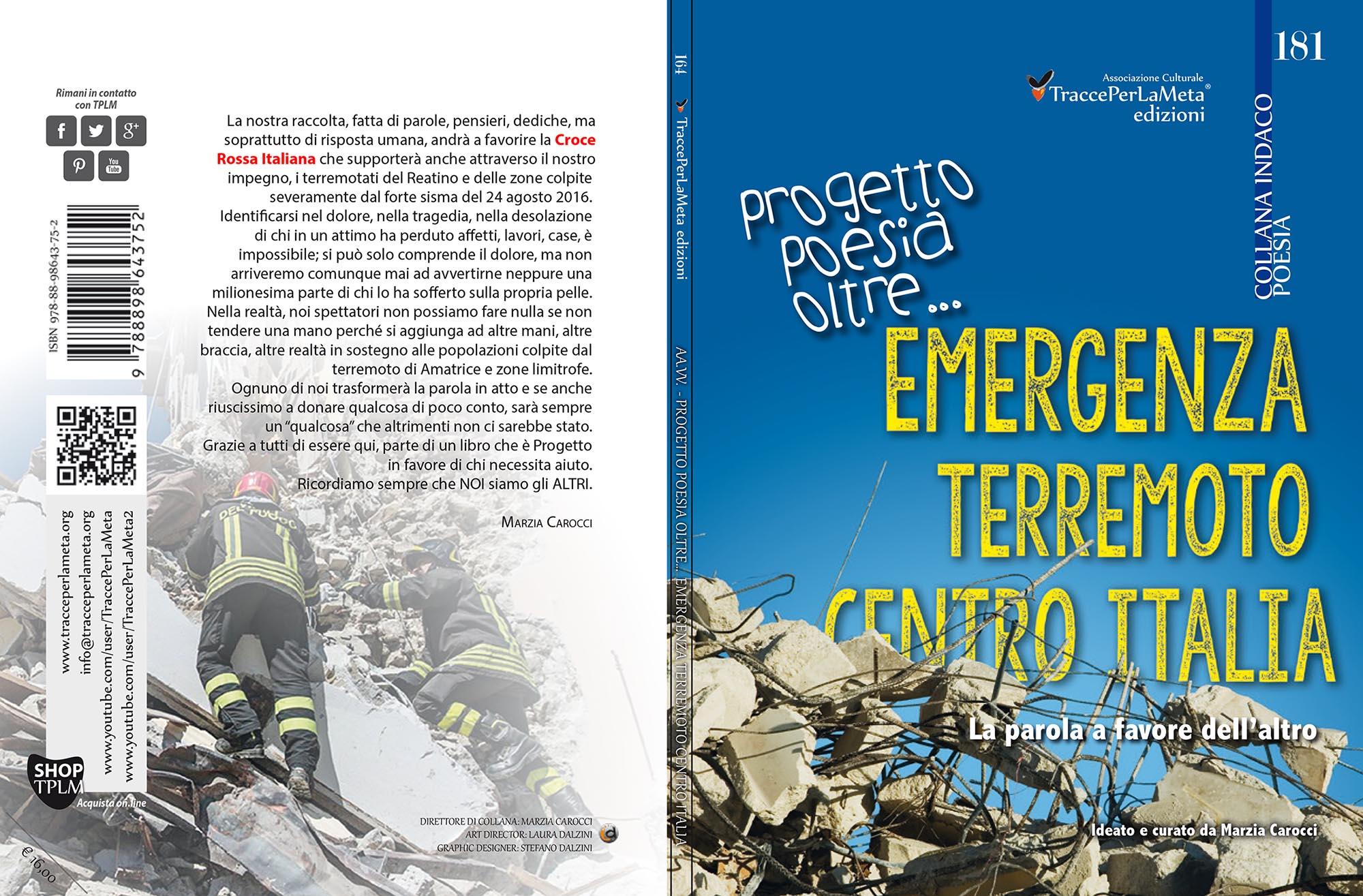 Scadenza 5.10.2016 – Emergenza Terremoto Centro Italia – Progetto Poesia Oltre