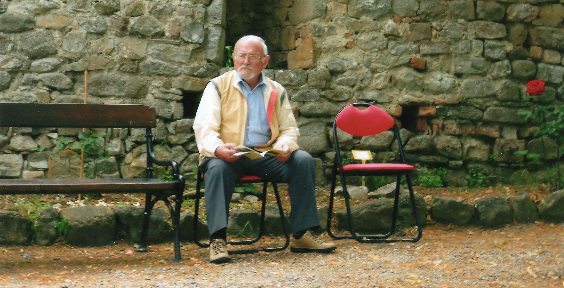 28.7.2018 Ricordo di LUIGI MARINI, poeta dall'animo semplice che cantava i sentimenti buoni, l'amicizia, i grandi valori dell'Uomo e la memoria del tempo passato